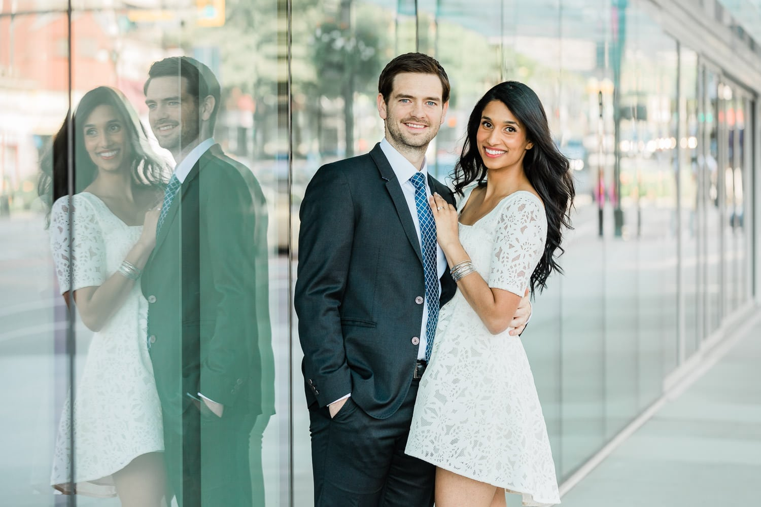Vancouver engagement photo | Westminster pier park engagement