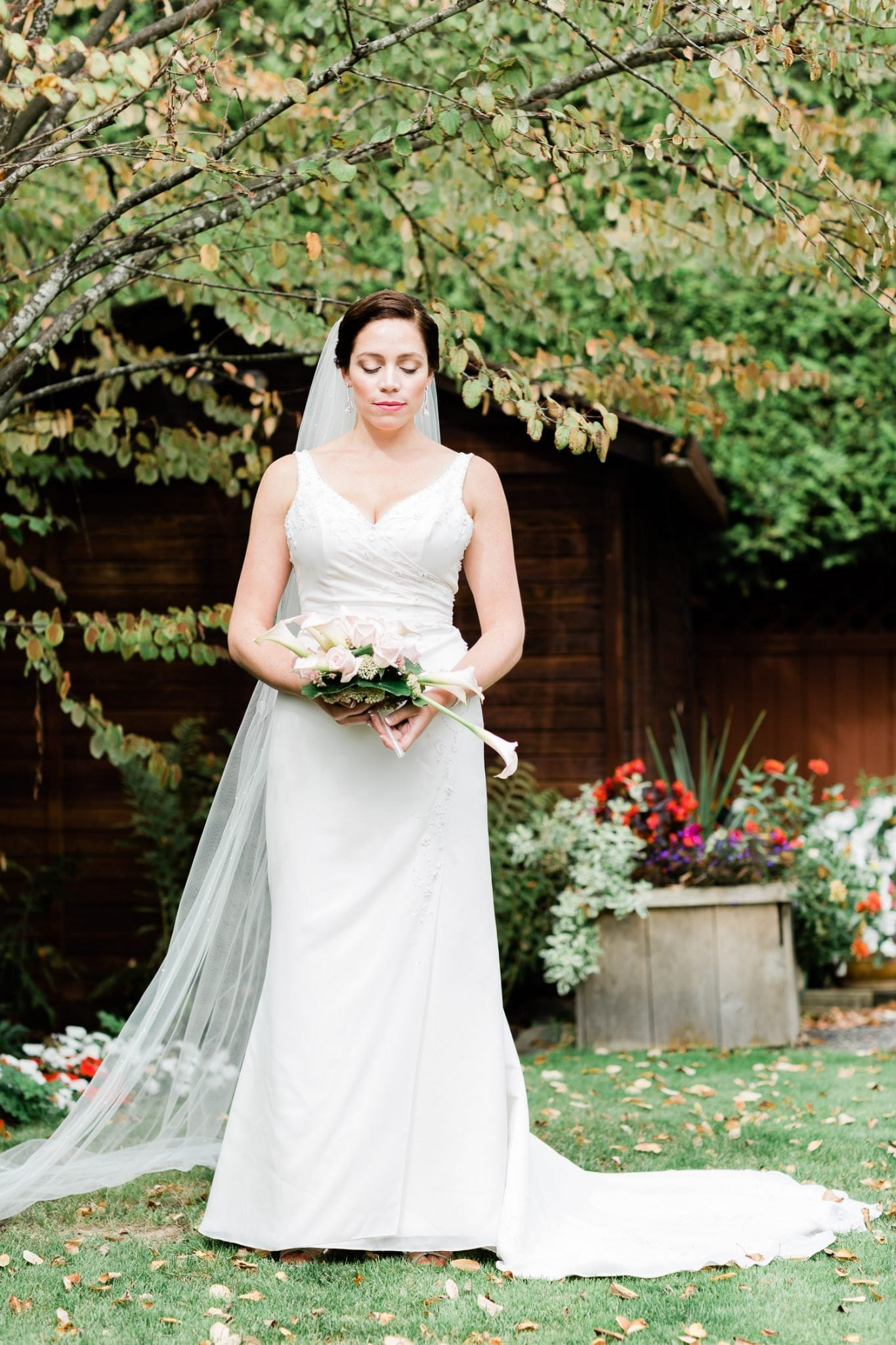 Portrait of a bride | Vancouver wedding photographer