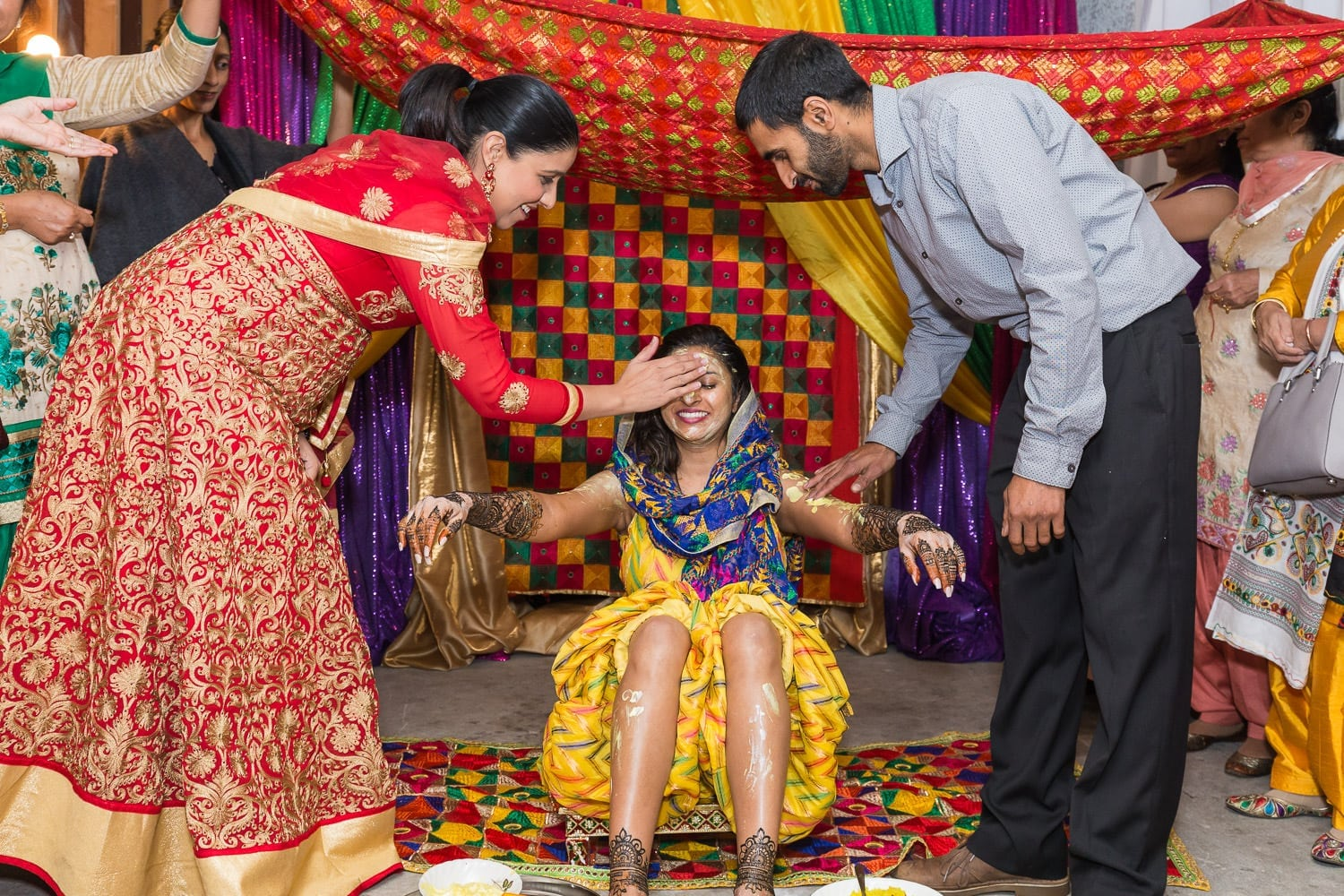 Indian Mayian ceremony | Vancouver Indian wedding photographer
