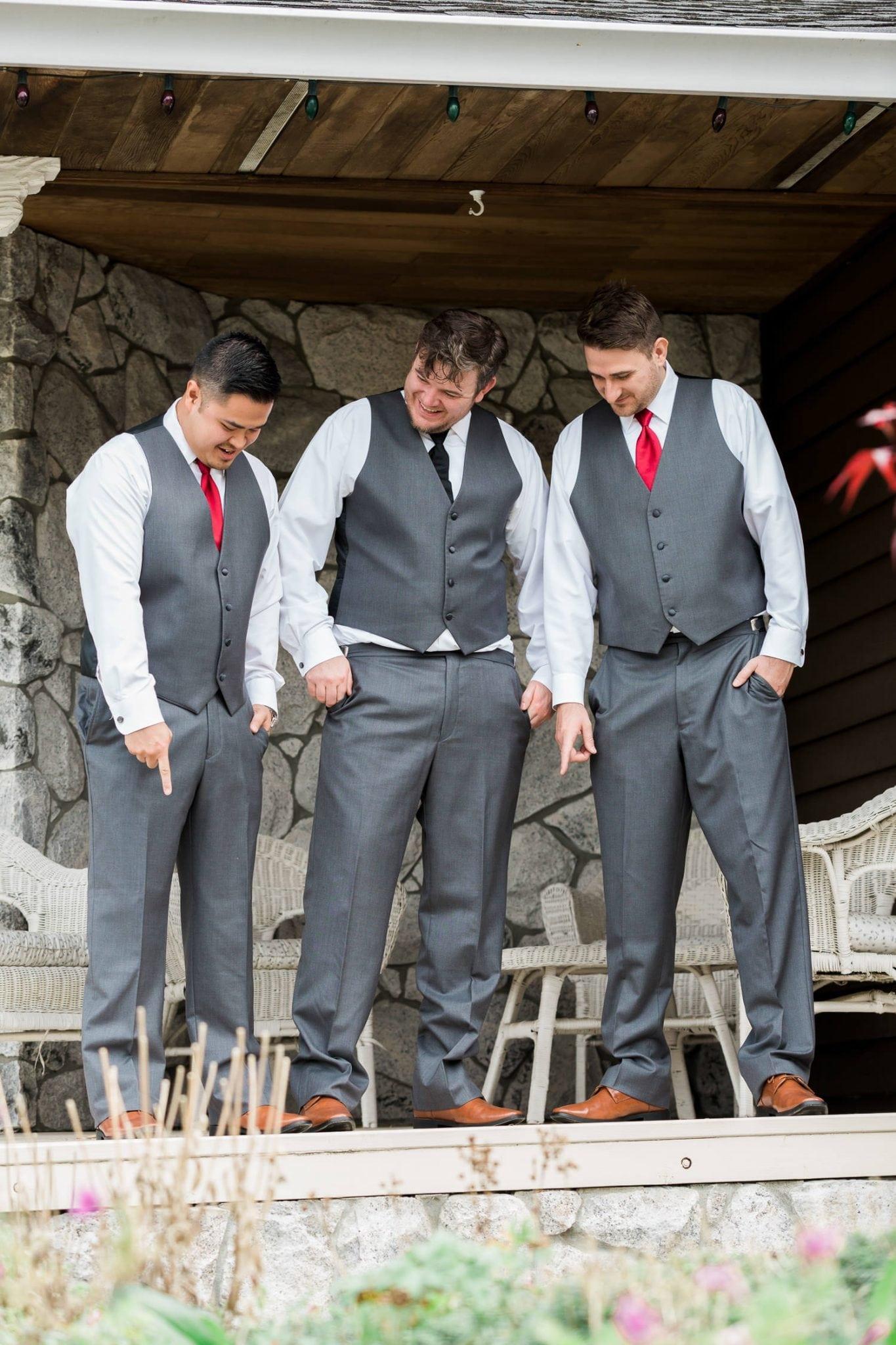 Groom and groomsmen | Vancouver wedding photographer