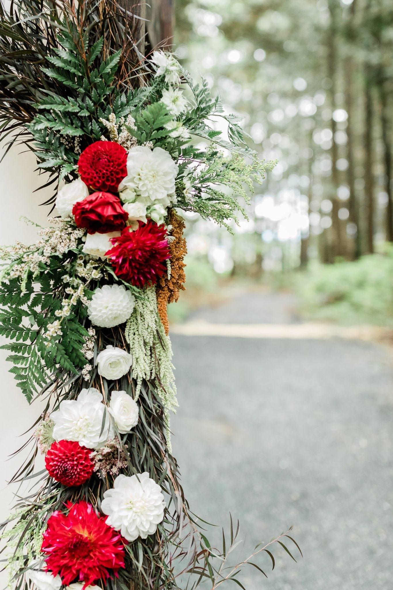 Wedding arch decor | Vancouver wedding photographer
