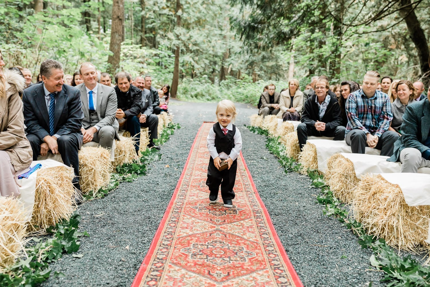 Cute ring bearer | Vancouver wedding photographer