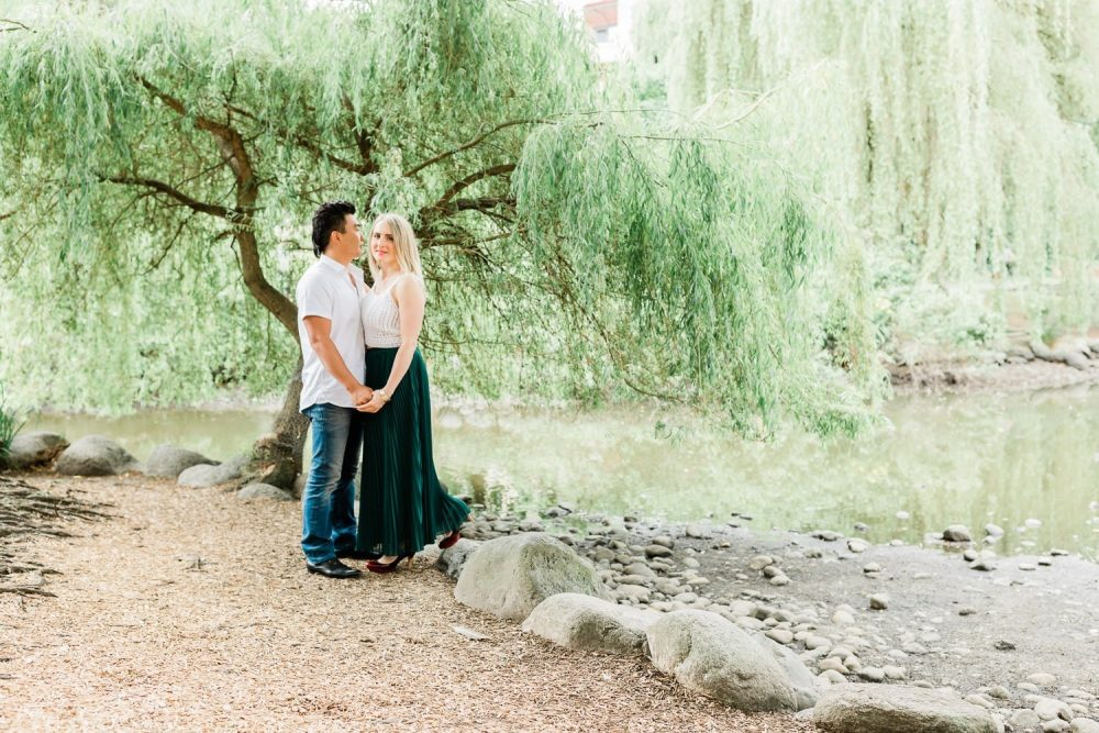 Classic Granville Island engagement photo | Vancouver wedding photographer