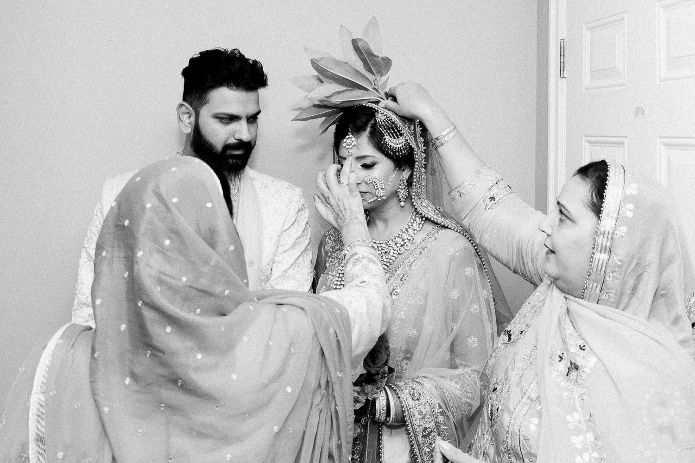 Pani Varna ceremony | Indian wedding photography Vancouver