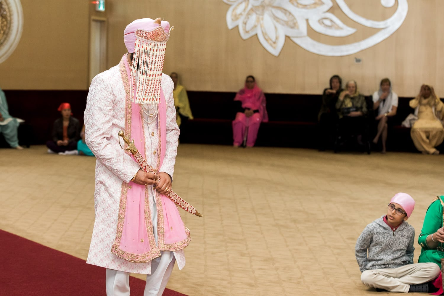 Indian groom entrance | Indian wedding photography Vancouver