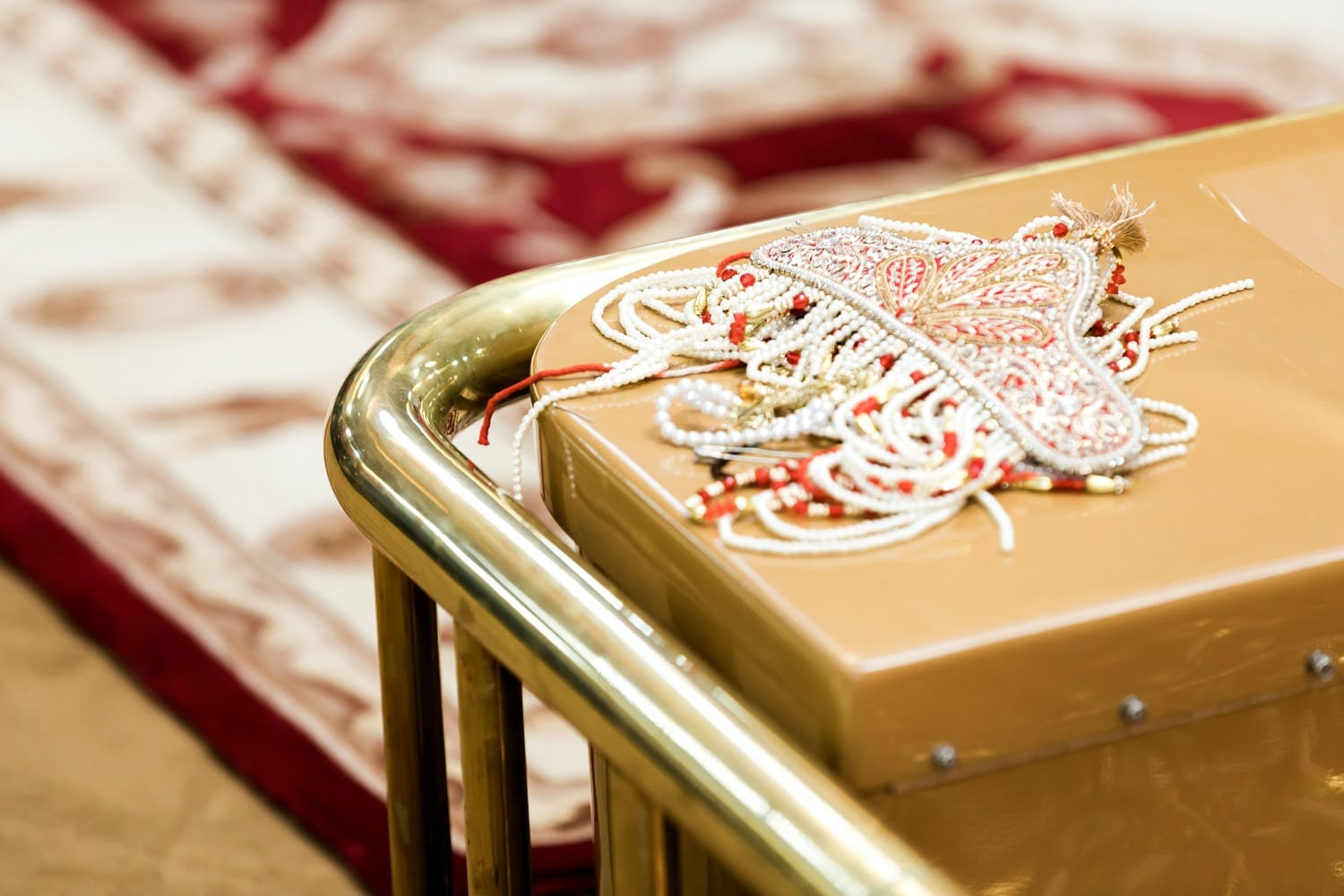 Indian wedding decorations at the temple | Indian wedding photography Vancouver