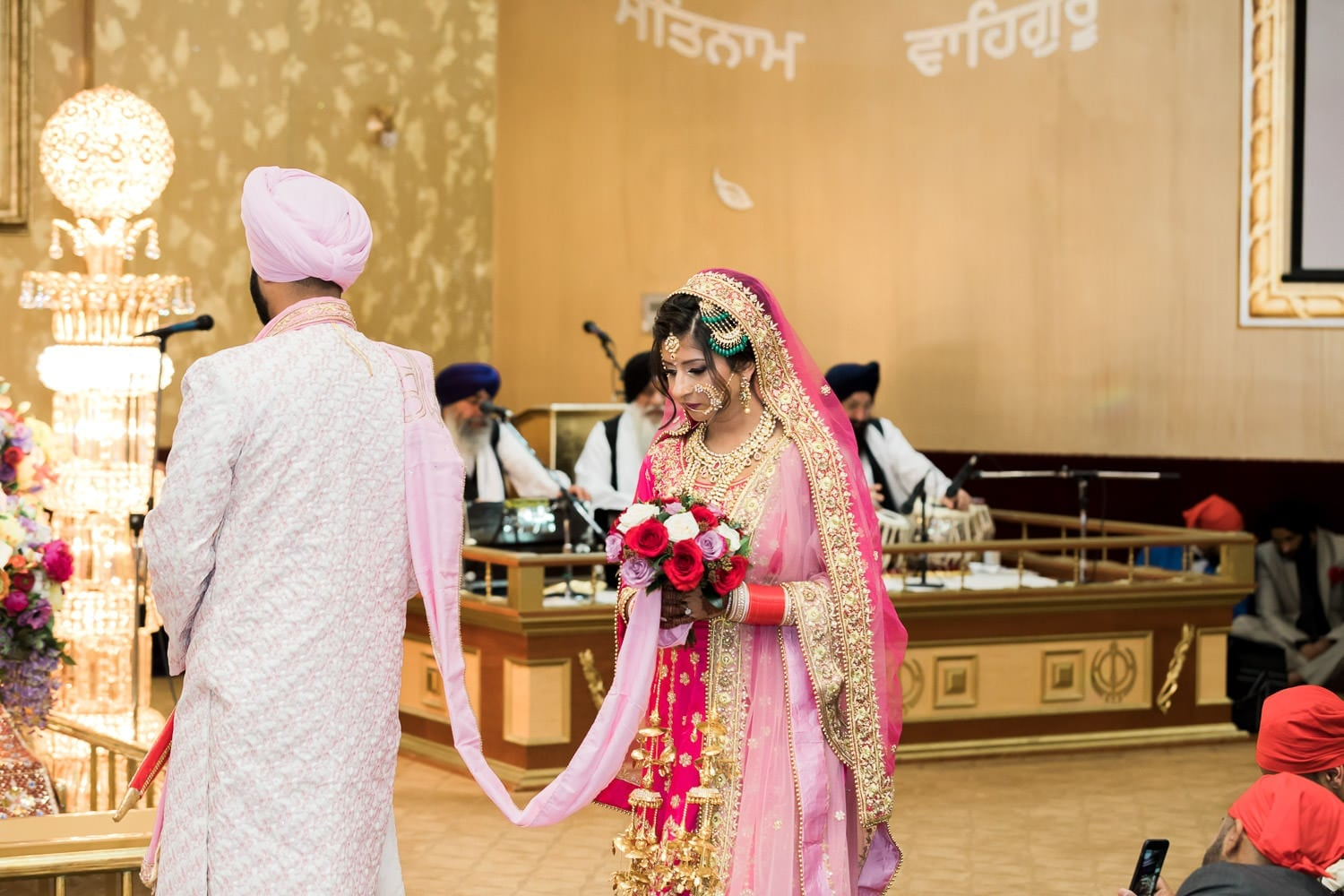 Indian wedding at the temple | Indian wedding photography Vancouver
