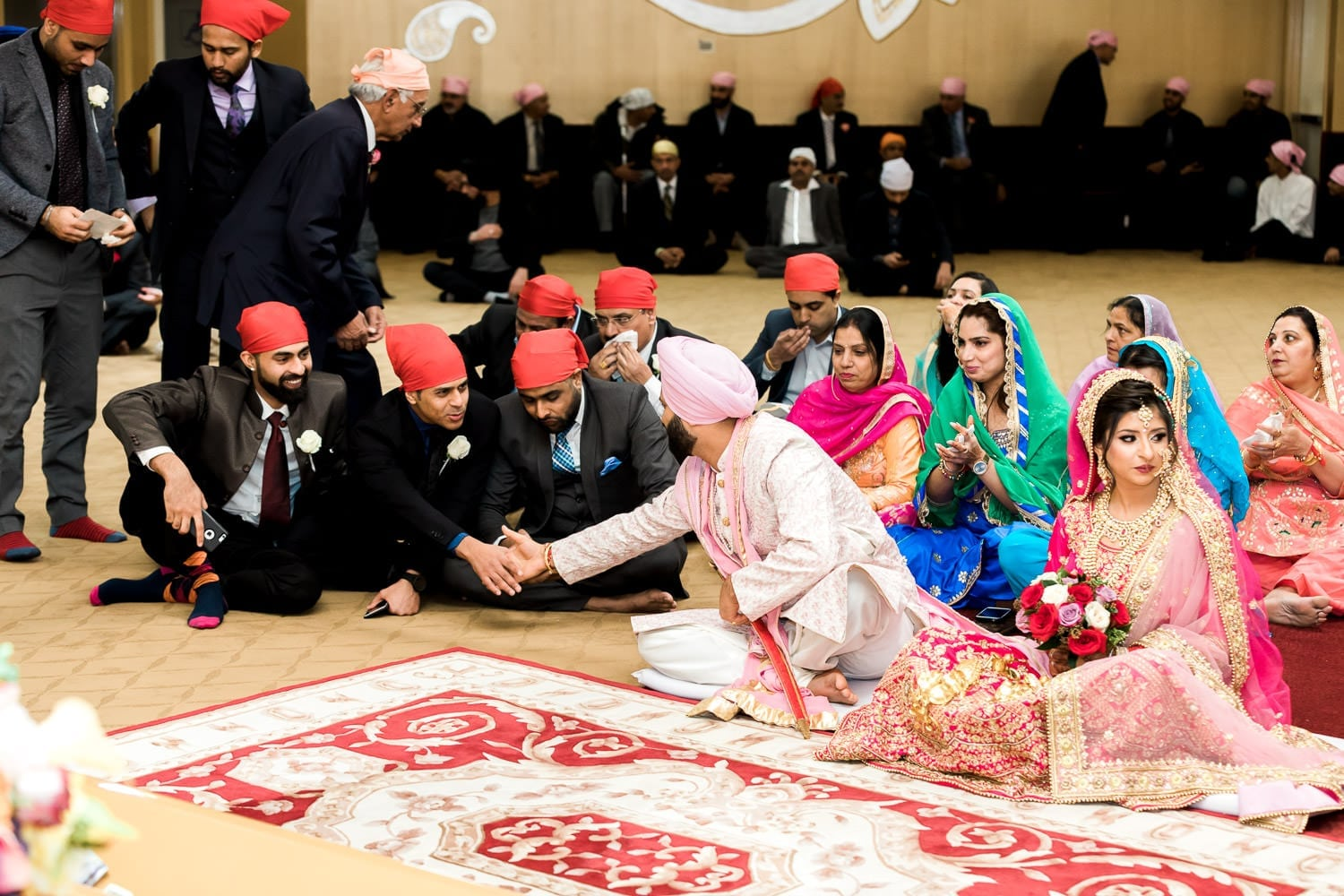 Indian wedding at the temple   Indian wedding photography Vancouver