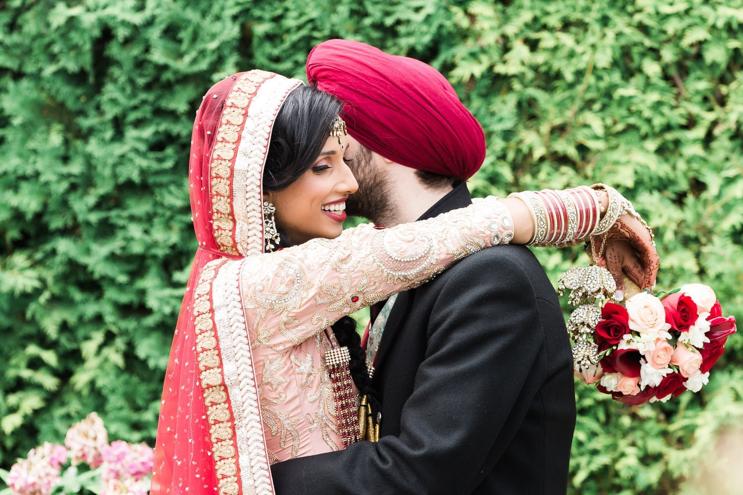 Indian and Norwegian wedding | Vancouver Indian wedding photographer