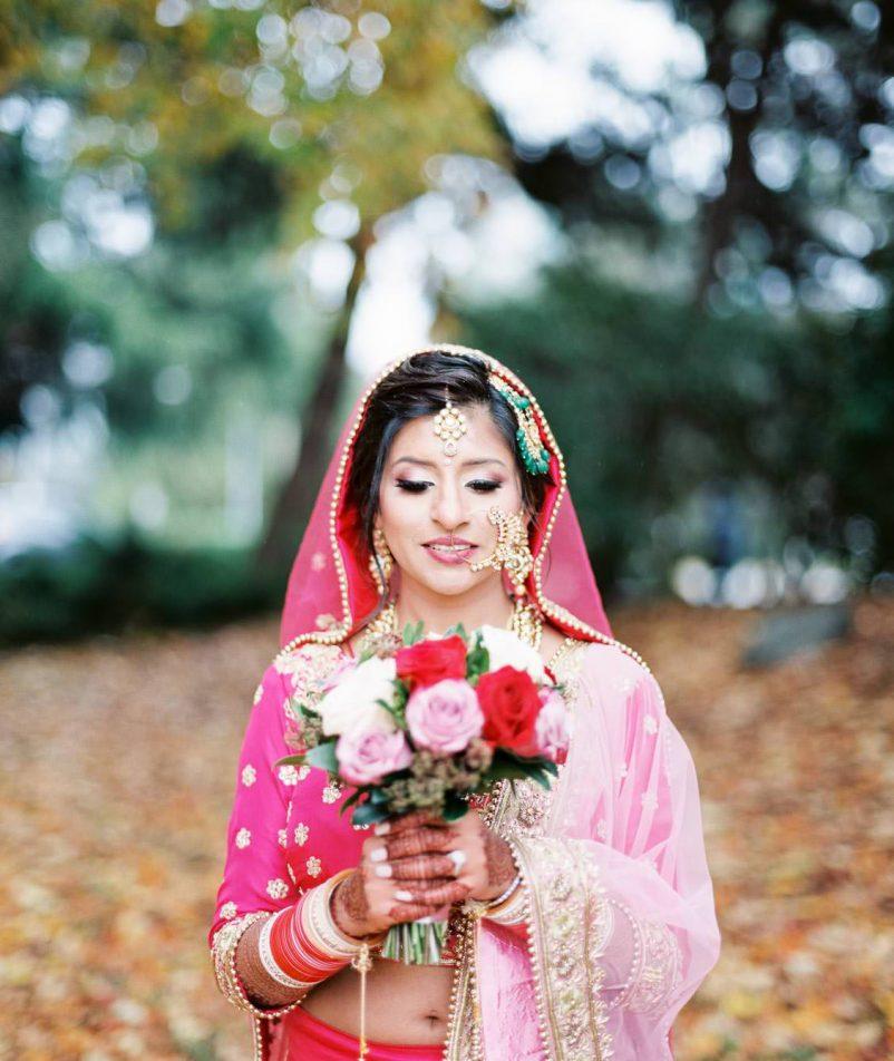 Indian bride | Vancouver Indian wedding photographer