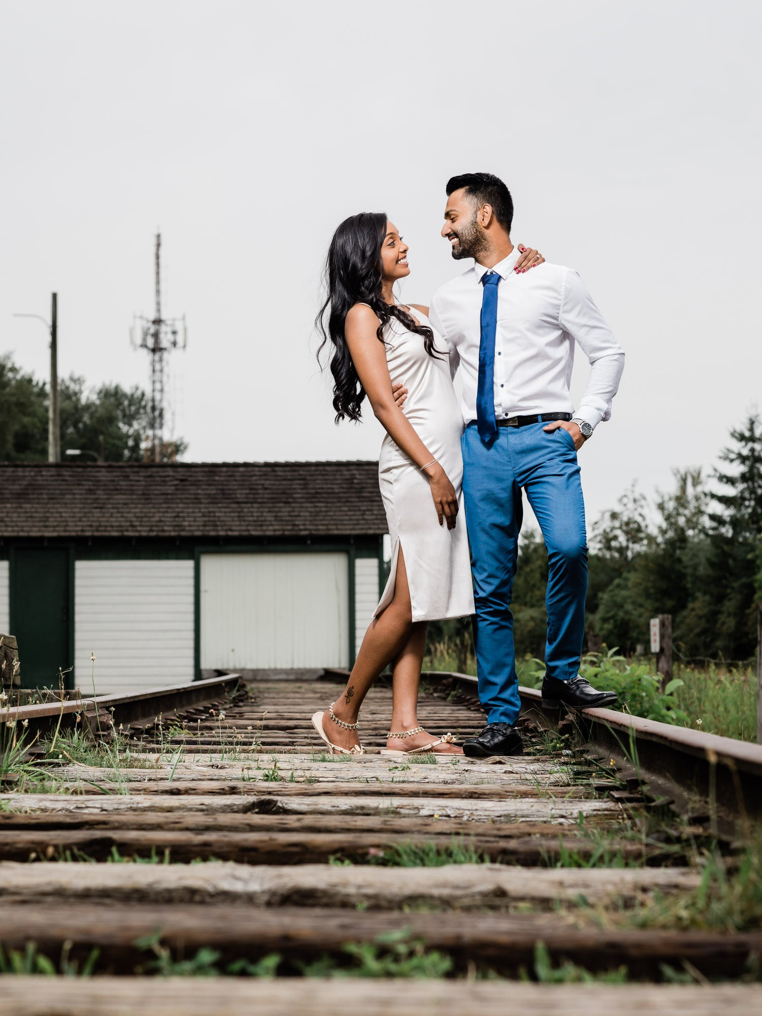 Fort Langley Engagement | Vancouver Indian Wedding Photographer