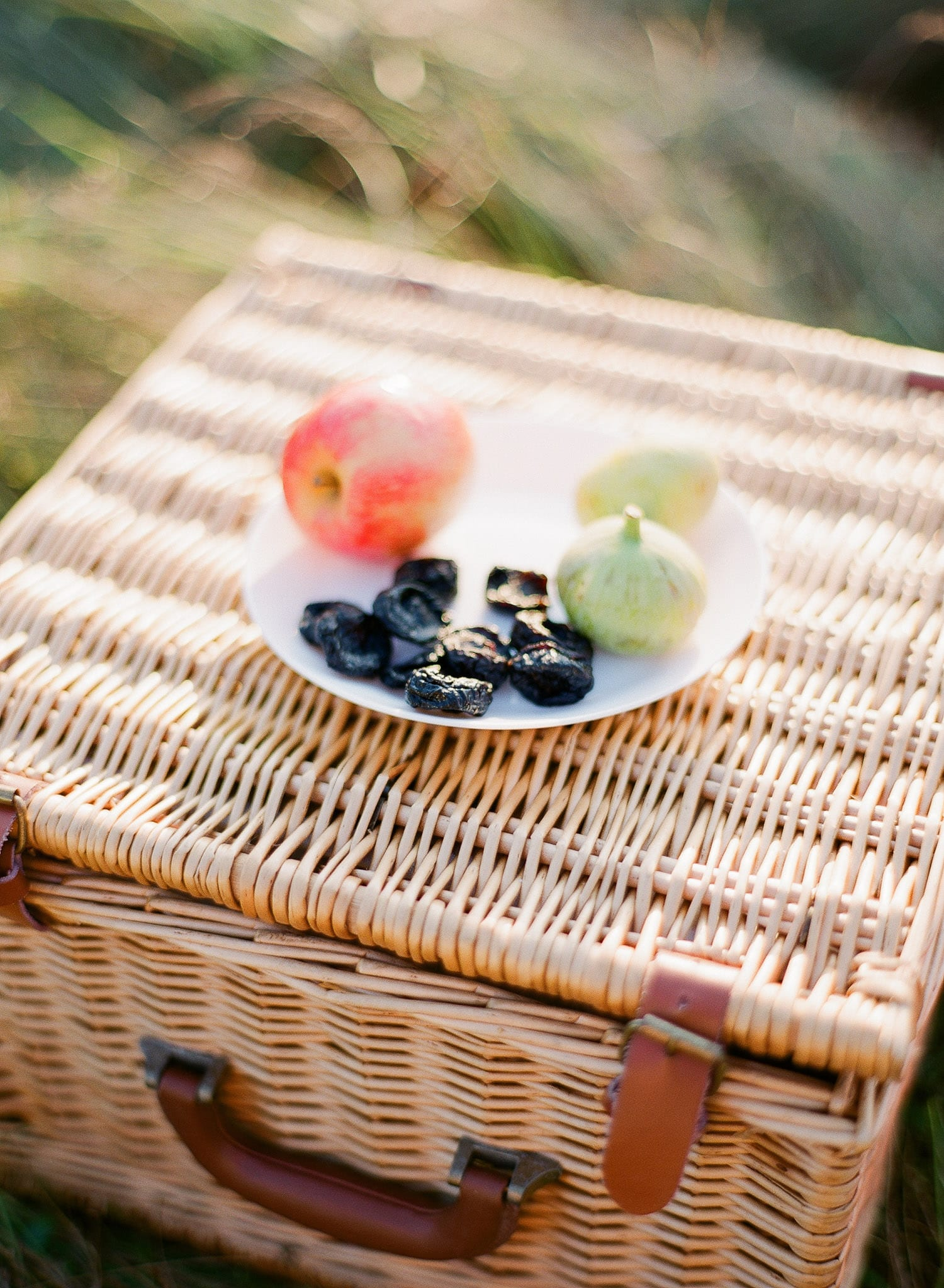Picnic basket | Vancouver Fine Art Engagement Photographer